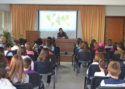 Επίσκεψη Δημοτικού Σχολείου στην αίθουσά μας