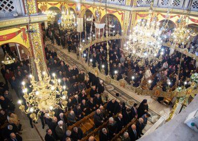Πατριαρχική Θεία Λειτουργία στον Ι. Ναό Αγ. Παντελεήμονος Αμπελοκήπων για τα τριάντα χρόνια από την κοίμηση του παπα-Κοσμά Γρηγοριάτη