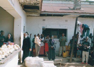 Διανομή τροφίμων στις Φυλακές του Κολουέζι