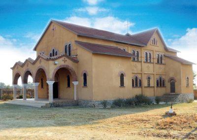 Ο Ι. Ναός Αγίας Σοφίας στο Κηπούσι του Λουμπουμπάσι του Κονγκό