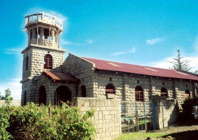 Ο Ι. Ναός Αγίου Νικολάου στο Καχούχο της Κένυα