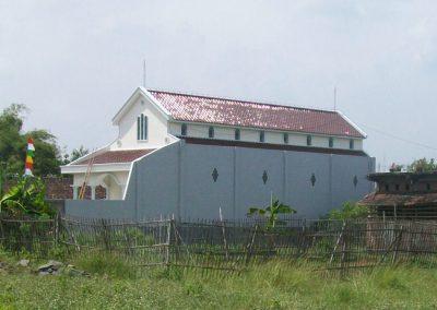 Ο Ι. Ναός Κοιμήσεως της Θεοτόκου στο Κεντουνγκσάρι Γκουνούνγκ Γκενταγκάν της Ανατ.Ιάβας