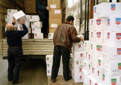 Αποστολή φαρμάκων και αποστειρωμένου γάλακτος στην Ερζεγοβίνη
