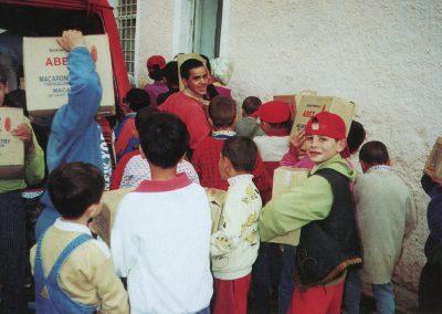 Η ανθρωπιστική βοήθεια προς το Ορφανοτροφείο των Αγίων Σαράντα στην Αλβανία