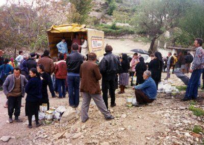 Διανομή βοήθειας στο ελληνόφωνο χωριό Μεσοπόταμος στην Αλβανία