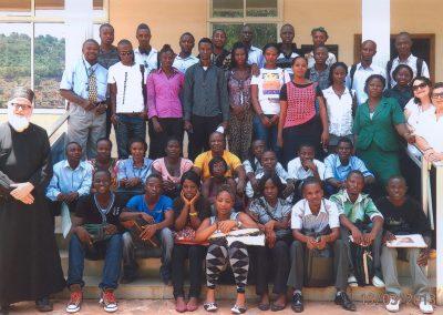 Οι σπουδαστές της Παιδαγωγικής Ακαδημίας στη Φριτάουν της Σιέρρα Λεόνε