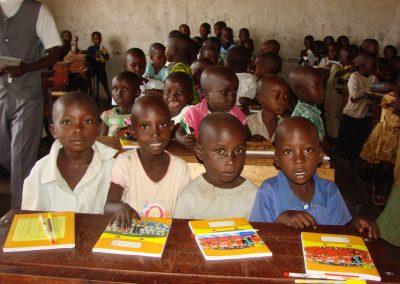 Μαθητές σχολείου στη Μπουραμάτα του Μπουρούντι