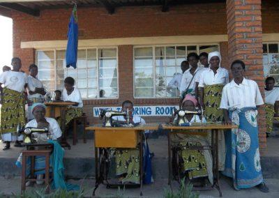 Το εργαστήριο ραπτικής στο Καμπότζι-Βούμπουε του Μαλάουι