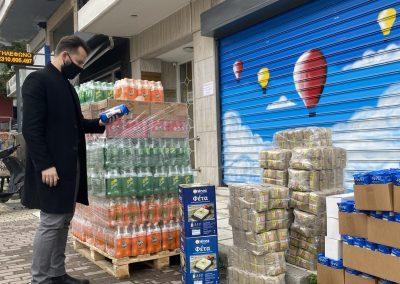 Έλεγχος των προς διανομή τροφίμων