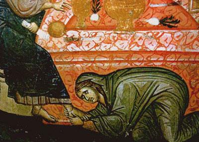 Ιερόδουλη βαπτίστηκε δύο ώρες πριν πεθάνει