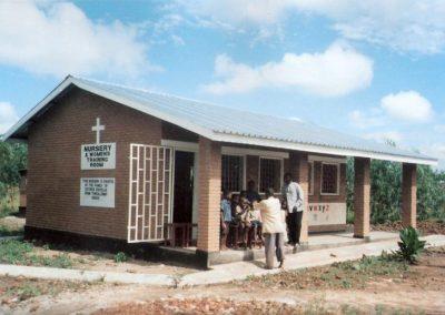 Το Νηπιαγωγείο και το εργαστήριο ραπτικής στο Παλόμπε του Μαλάουι