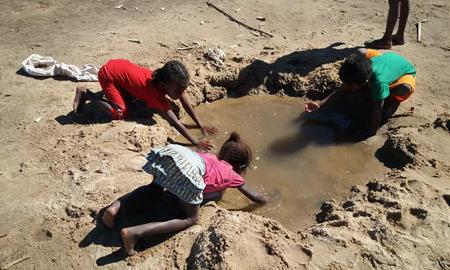 Στέγνωσε η γη στην Τολιάρα της Μαδαγασκάρης